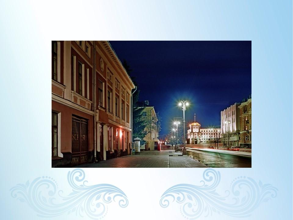 Гражданский проспект ночью